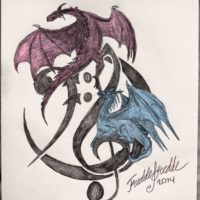 FG logo dragons