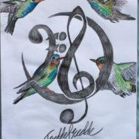 FG logo hummingbirds