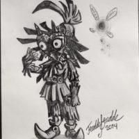 Zelda - skull kid