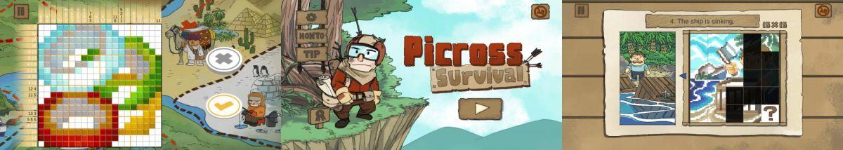 4 Picross Survival